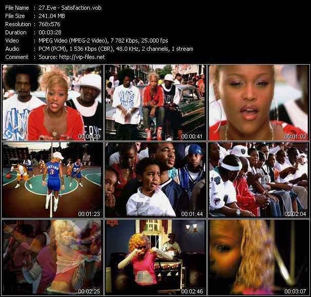 video Satisfaction screen
