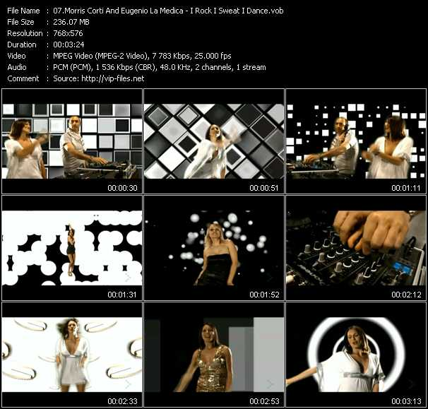 download Morris Corti And Eugenio Lamedica « I Rock I Sweat I Dance » video vob