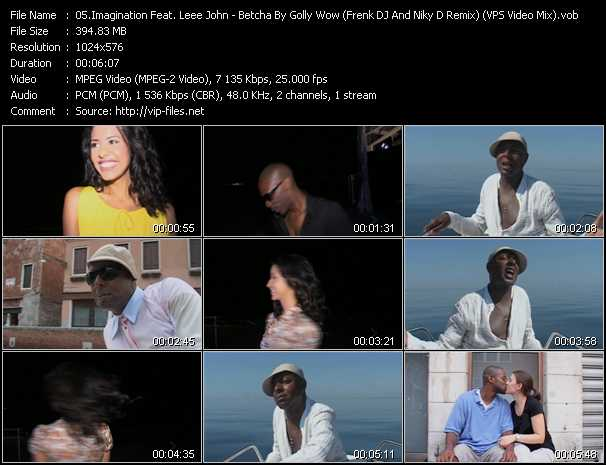 video Betcha By Golly Wow (Frenk DJ And Niky D Remix) (VPS Video Mix) screen