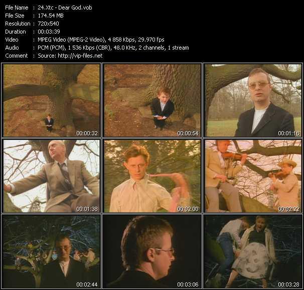 download Xtc « Dear God » video vob