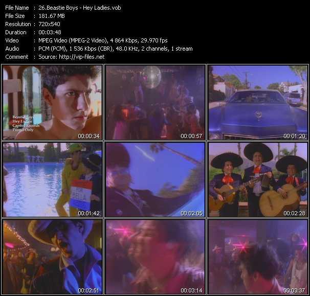 download Beastie Boys « Hey Ladies » video vob