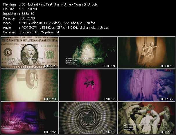 video Money Shot screen