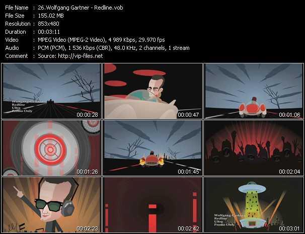 video Redline screen