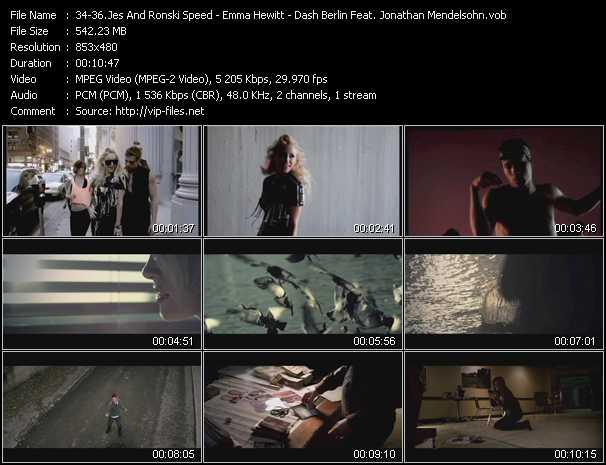 download Jes And Ronski Speed - Emma Hewitt - Dash Berlin Feat. Jonathan Mendelsohn « Can't Stop - Colours (Armin Van Buuren Remix) - World Falls Apart » video vob