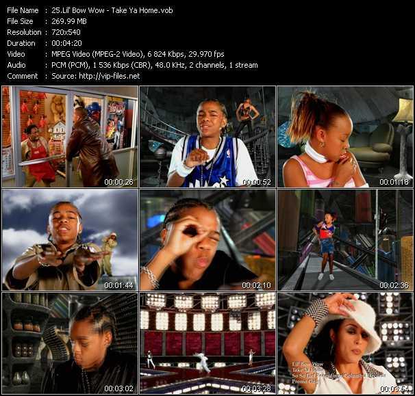 video Take Ya Home screen