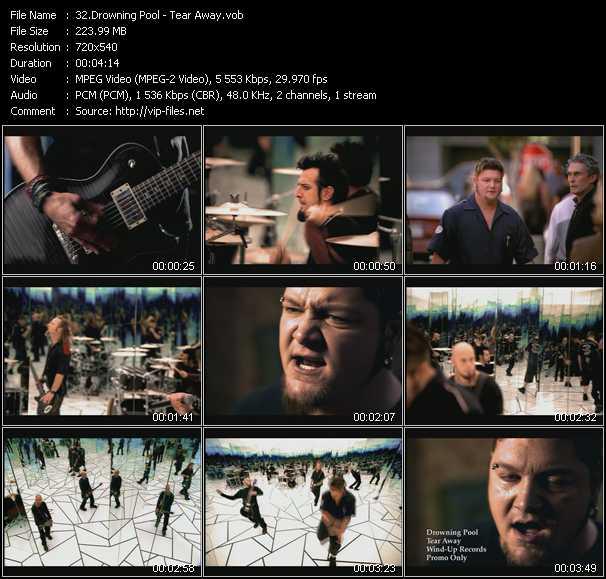 video Tear Away screen
