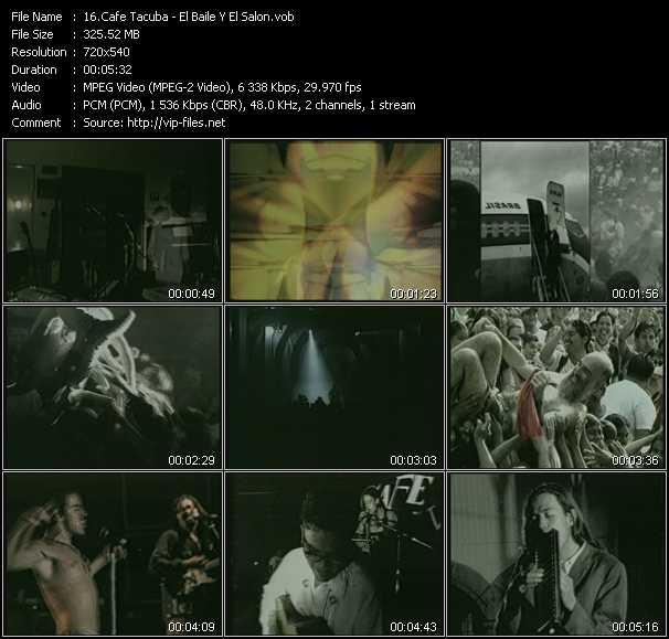 video El Baile Y El Salon screen