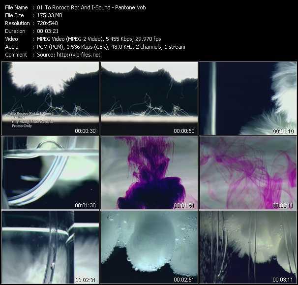 video Pantone screen