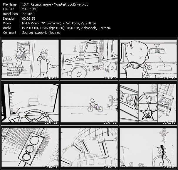 video Monstertruck Driver screen