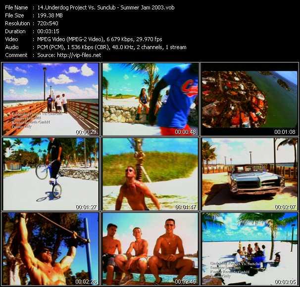 video Summer Jam 2003 screen