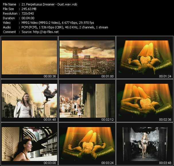download Perpetuous Dreamer « Dust.wav » video vob