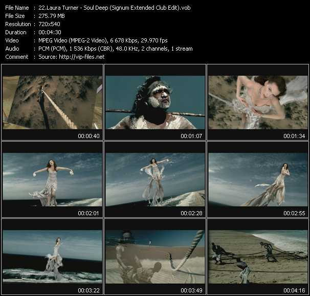 download Laura Turner « Soul Deep (Signum Extended Club Edit) » video vob