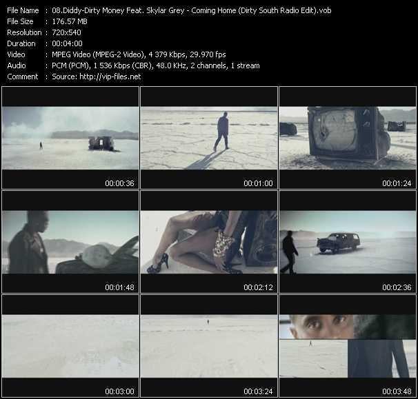 video Coming Home (Dirty South Radio Edit) (Vj Tony MacAroni Video Mix) screen
