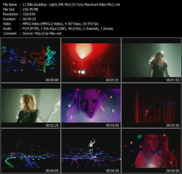 video Lights (MK Mix) (Vj Tony MacAroni Video Mix) screen