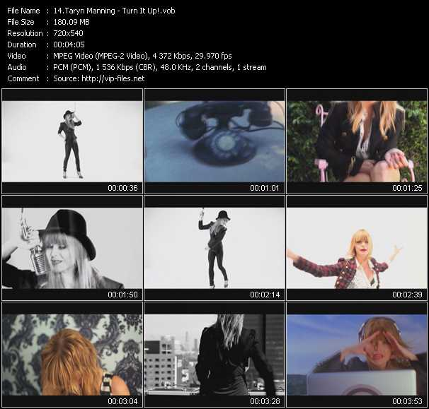 download Taryn Manning « Turn It Up! » video vob
