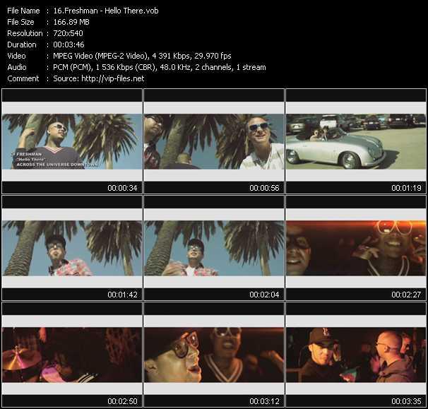 download Freshman « Hello There » video vob