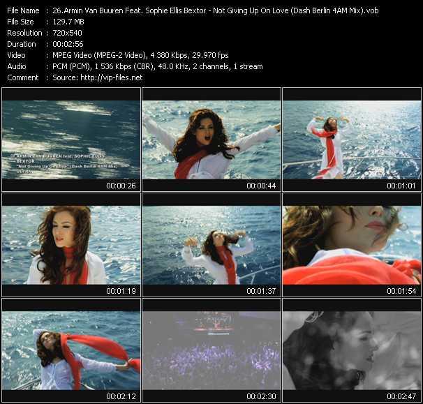 video Not Giving Up On Love (Dash Berlin 4AM Mix) screen