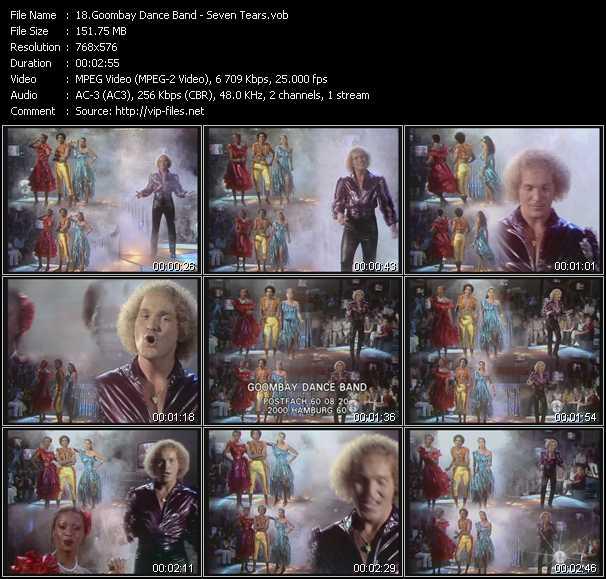 video Seven Tears screen