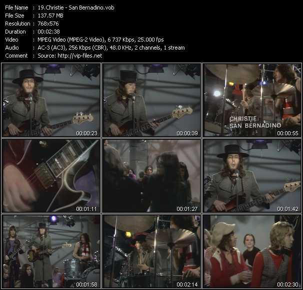 video San Bernadino screen