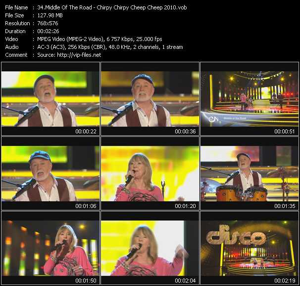 video Chirpy Chirpy Cheep Cheep 2010 screen