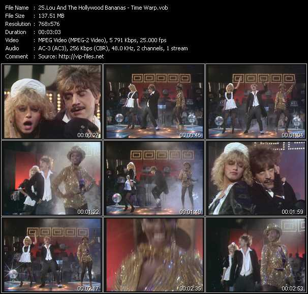 video Time Warp screen