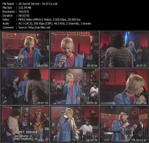 video Ye-Si-Ca screen