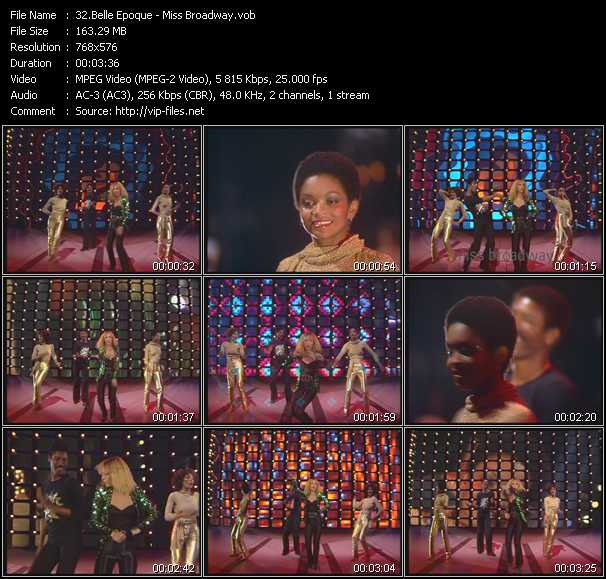 video Miss Broadway screen