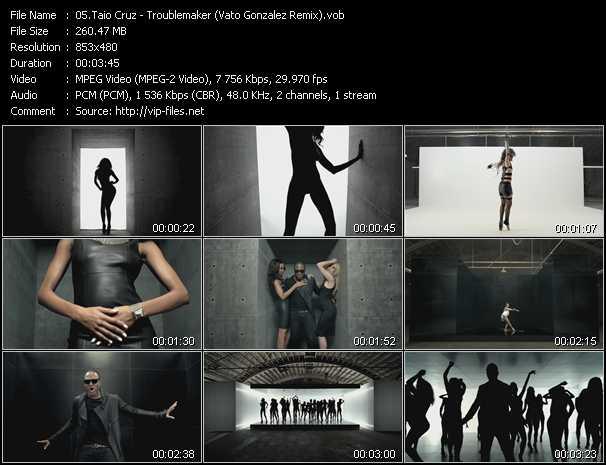 video Troublemaker (Vato Gonzalez Remix) screen