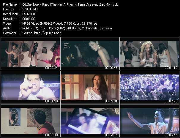 video Paso (The Nini Anthem) (Tamir Assayag Sax Mix) screen