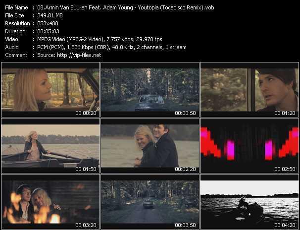 video Youtopia (Tocadisco Remix) screen
