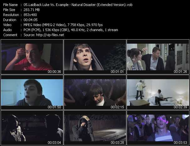 video Natural Disaster (Extended Version) screen