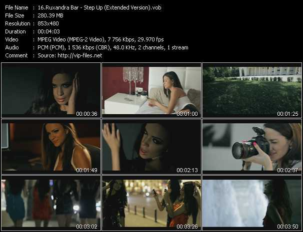 download Ruxandra Bar « Step Up (Extended Version) » video vob