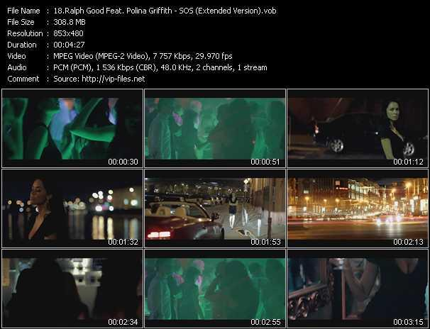 download Ralph Good Feat. Polina Griffith « SOS (Extended Version) » video vob