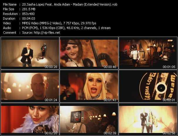 video Madam (Extended Version) screen