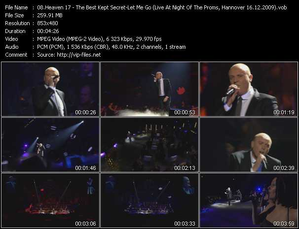 video The Best Kept Secret - Let Me Go (Live At Night Of The Proms, Hannover 16.12.2009) screen