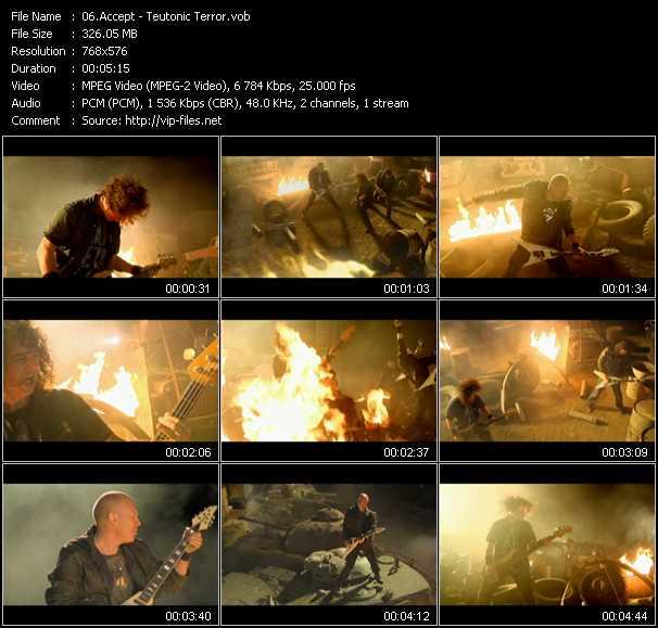 download Accept « Teutonic Terror » video vob