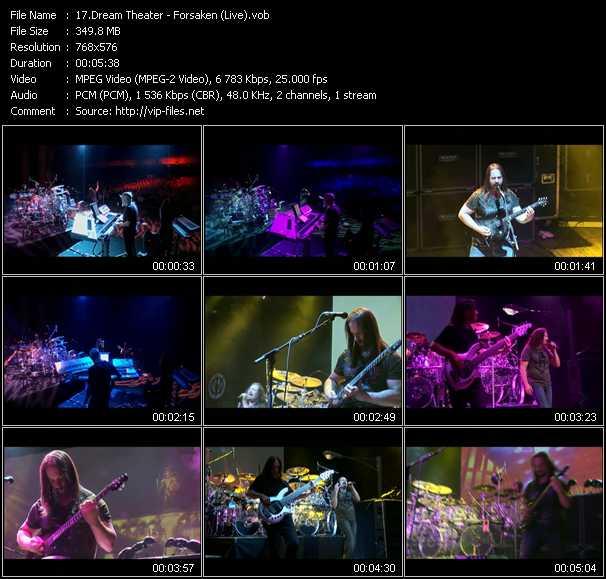 video Forsaken (Live) screen