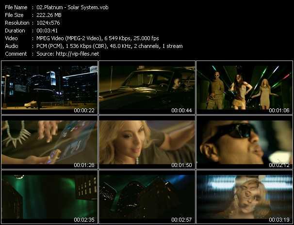 download Platnum (Platinum) « Solar System » video vob