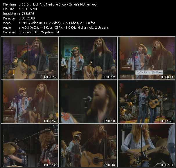download Dr. Hook And The Medicine Show « Sylvia's Mother (From Musikladen) » video vob