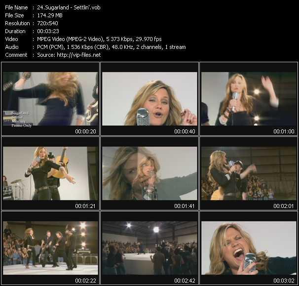video Settlin' screen