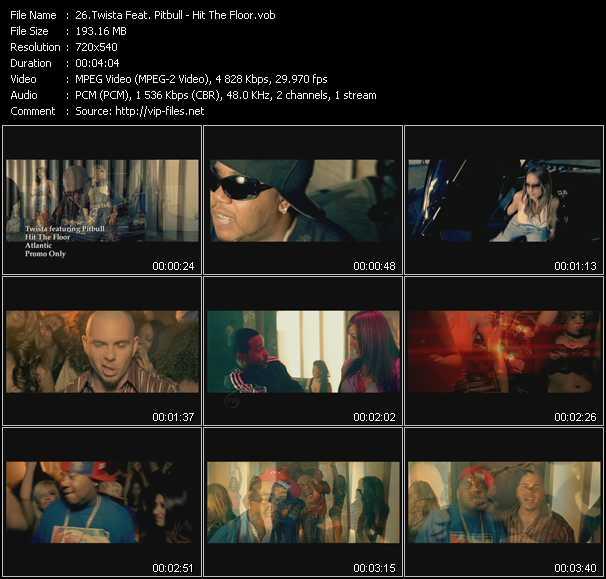 video Hit The Floor screen
