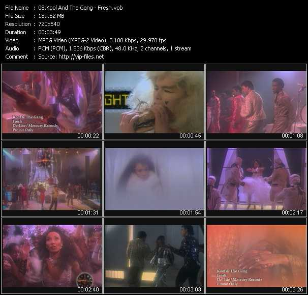 video Fresh screen