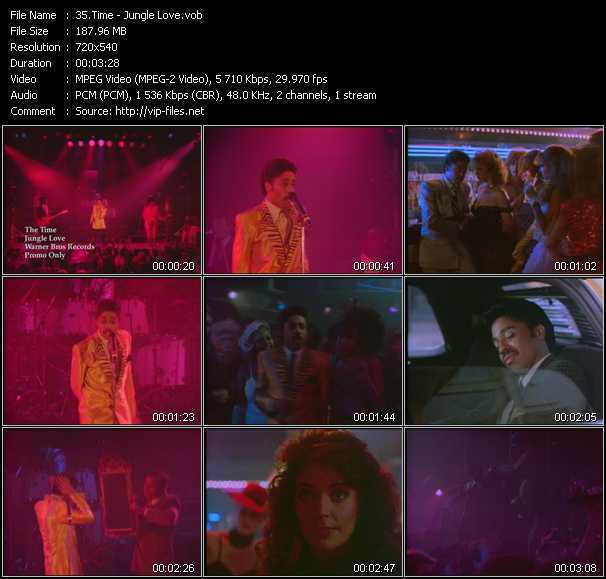 download Time (Morris Day And The Time) « Jungle Love » video vob