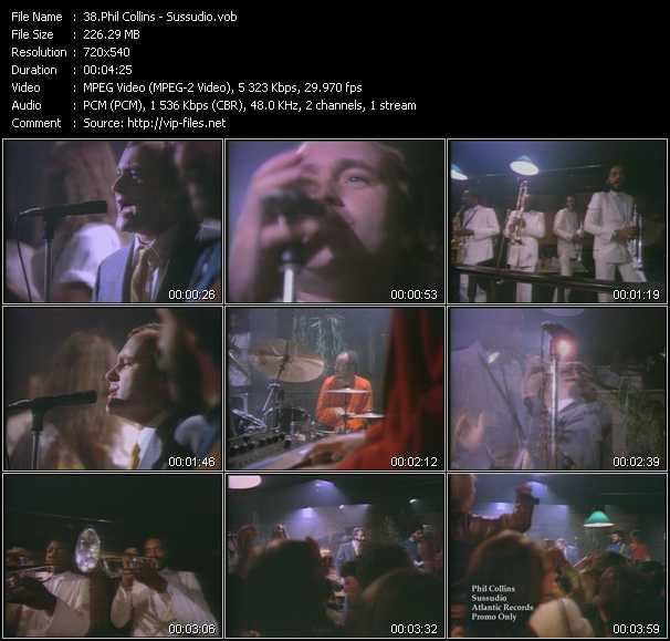 download Phil Collins « Sussudio » video vob