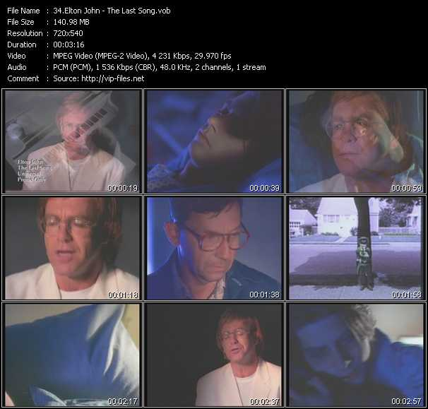 download Elton John « The Last Song » video vob