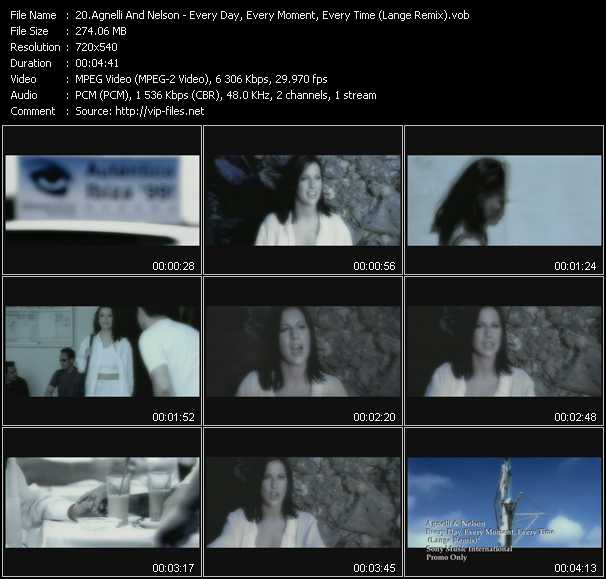video Everyday (Every Day, Every Moment, Every Time) (Lange Remix) screen