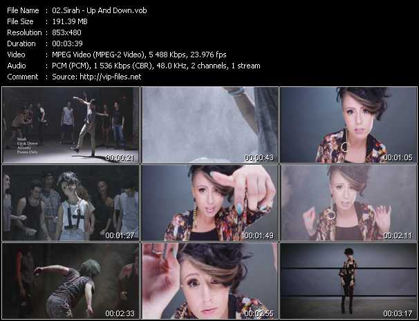 download Sirah « Up And Down » video vob
