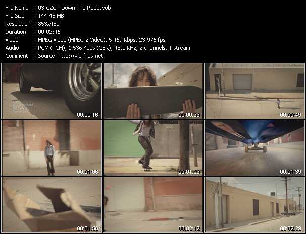 download C2C « Down The Road » video vob