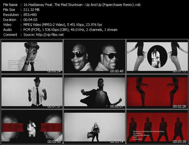 download Haddaway Feat. The Mad Stuntman « Up And Up (Paperchaser Remix) » video vob