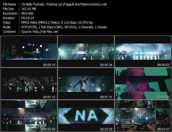 download Nelly Furtado « Parking Lot (Fagault And Marina Remix) » video vob